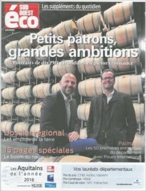 Sud Ouest Eco - December 2016
